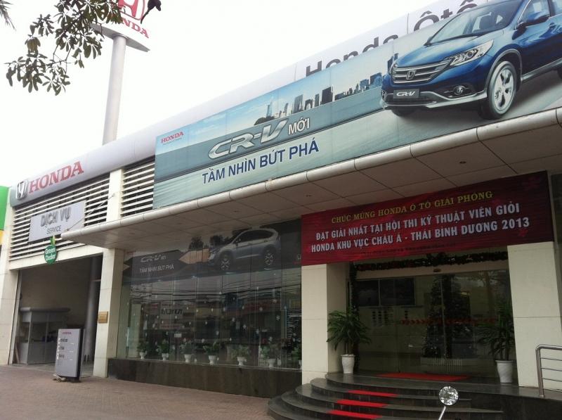 Cửa hàng Honda tại Hà Nội -Honda Giải Phóng