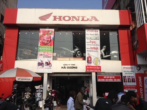 Cửa hàng Honda tại Hà Nội -Honda Hải Dương