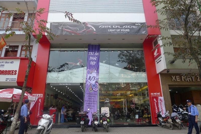 Cửa hàng Honda tại Hà Nội -Công ty TNHH Hồng Hạnh