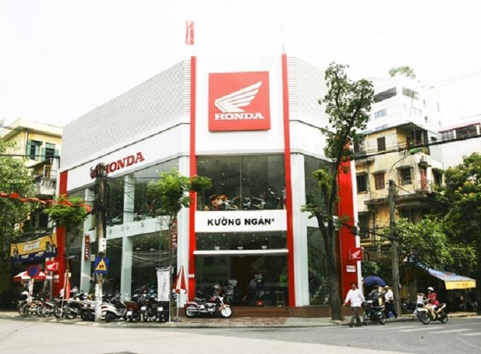 Cửa hàng Honda tại Hà Nội -Kường Ngân Honda