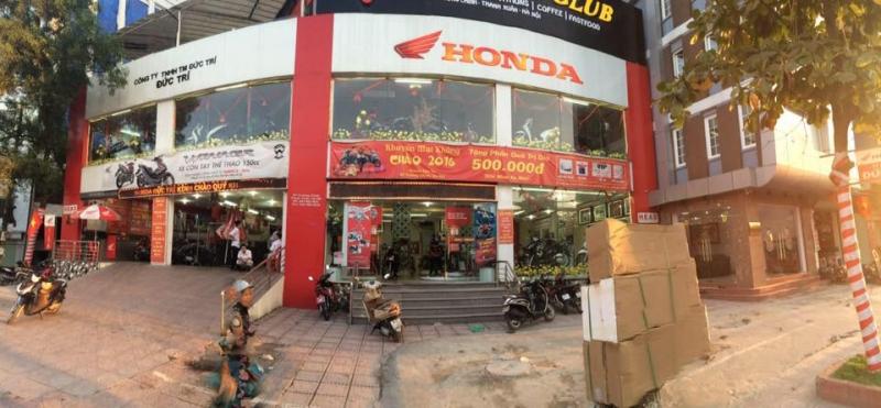 Cửa hàng Honda tại Hà Nội -Công ty TNHH thương mại Đức Trí