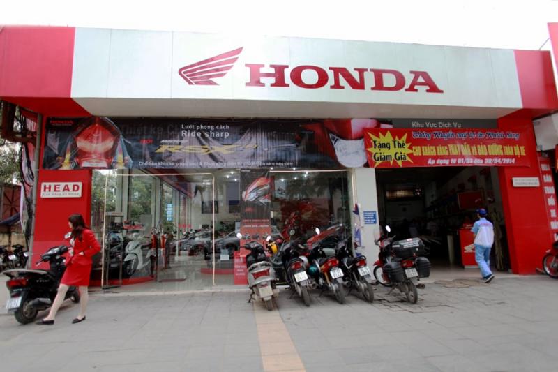 Cửa hàng Honda tại Hà Nội -Cửa hàng Honda Mùa Xuân