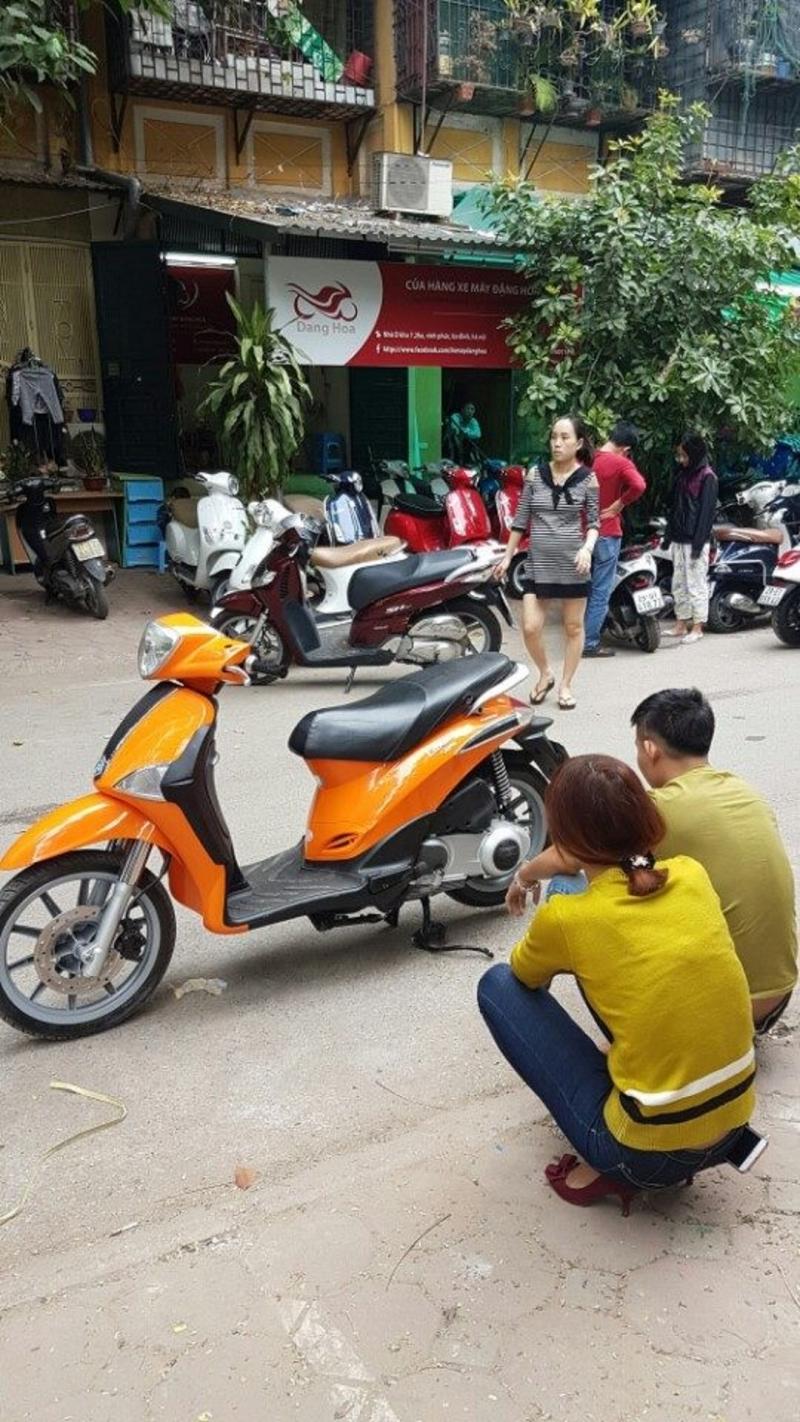 Cửa hàng mua bán xe máy cũ Hà Nội -Cửa hàng Đặng Hoà