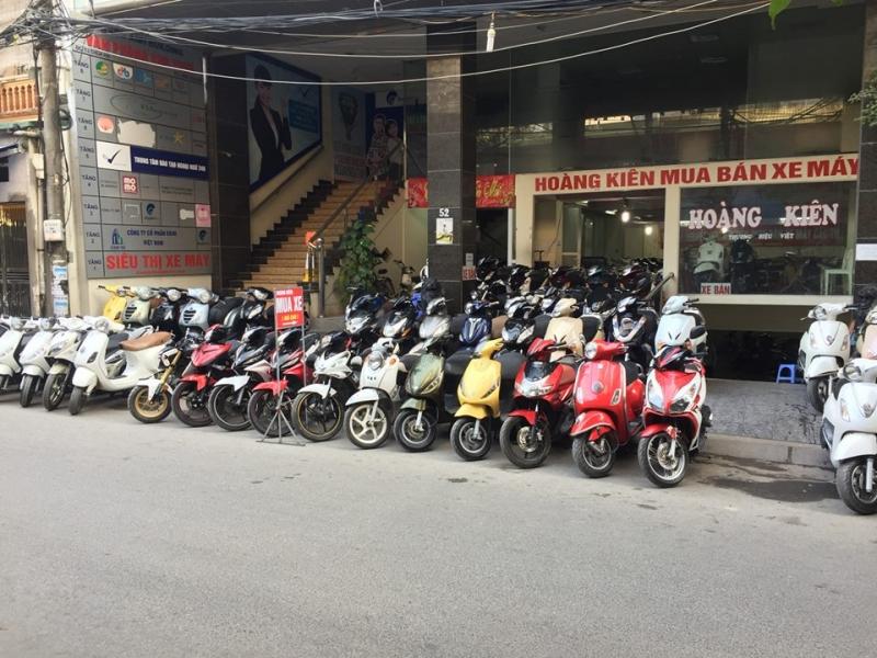 Cửa hàng mua bán xe máy cũ Hà Nội -Cửa hàng Hoàng Kiên
