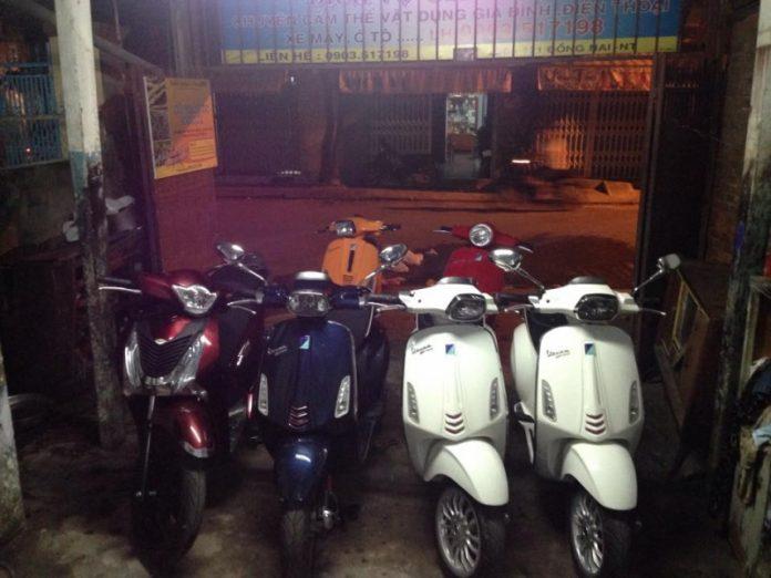 Cửa hàng mua bán xe máy cũ tại Nha Trang -Thế giới hai bánh 125 Đồng Nai