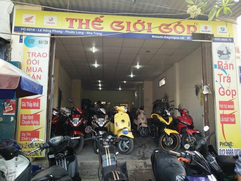 Cửa hàng mua bán xe máy cũ tại Nha Trang -Thế giới góp Nha Trang