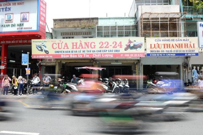 Cửa hàng xe máy cũ Hồ Chí Minh - Phố xe máy cũ ngã tư Phú Nhuận