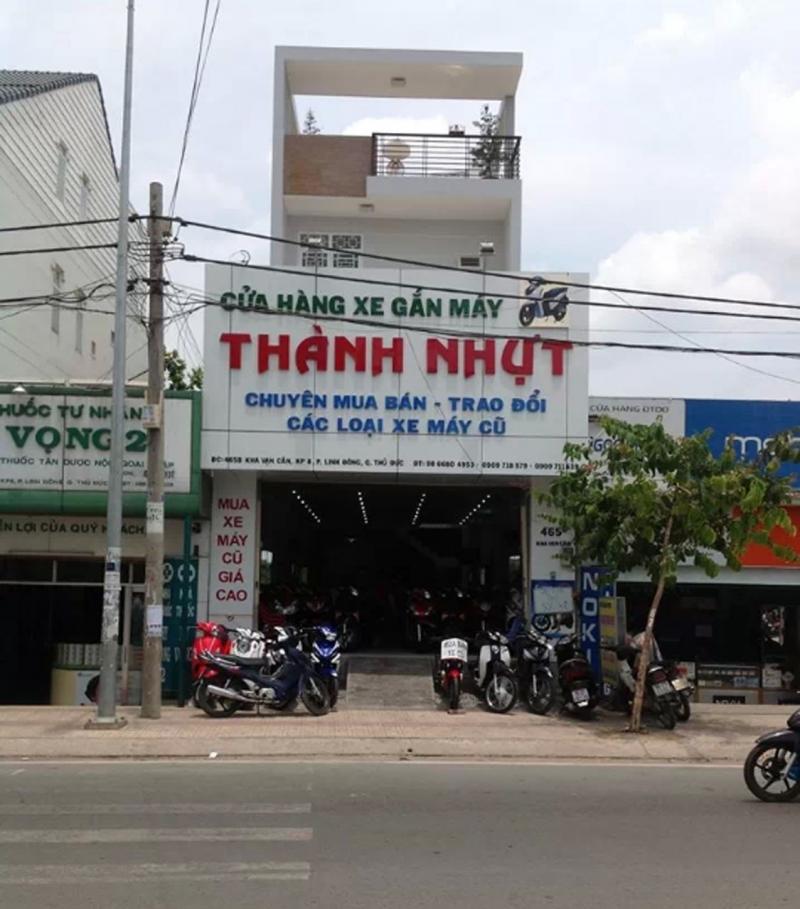 Cửa hàng xe máy cũ Hồ Chí Minh - Cửa hàng xe máy Thành Nhựt