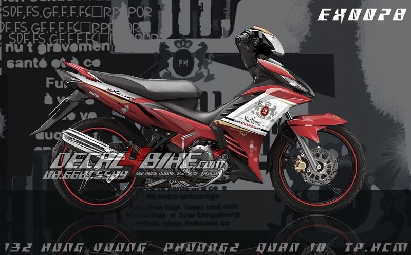 Dán Decal, keo xe máy tại Hà Nội -Cửa hàng Decal4Bike