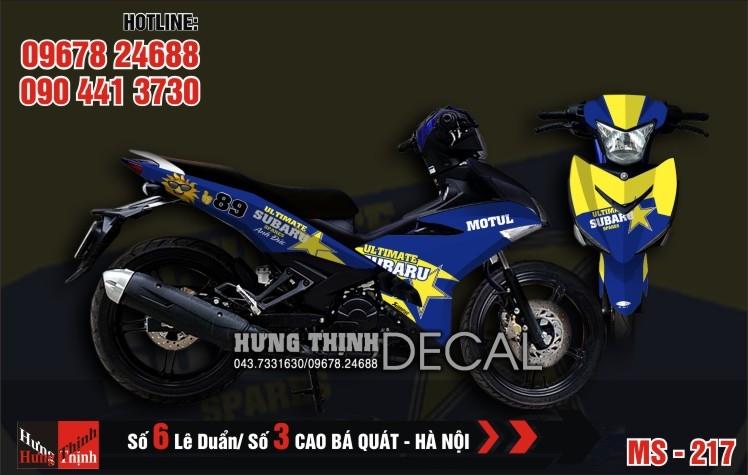 Dán Decal, keo xe máy tại Hà Nội -Cửa hàng Hưng Thịnh Decal