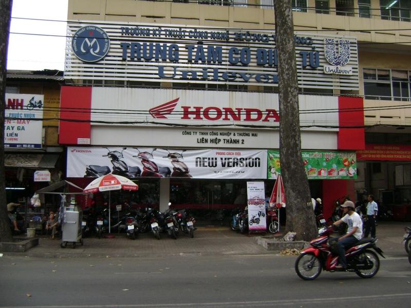 Đại lý HEAD HONDA Hồ Chí Minh - Head Liên Hiệp Thành 2