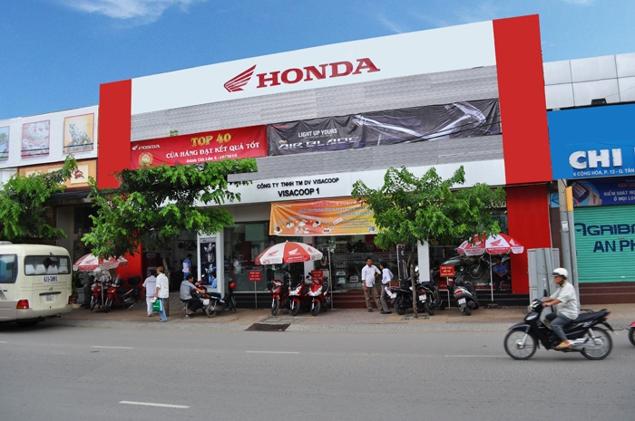 Đại lý HEAD HONDA Hồ Chí Minh - Head VISACOOP