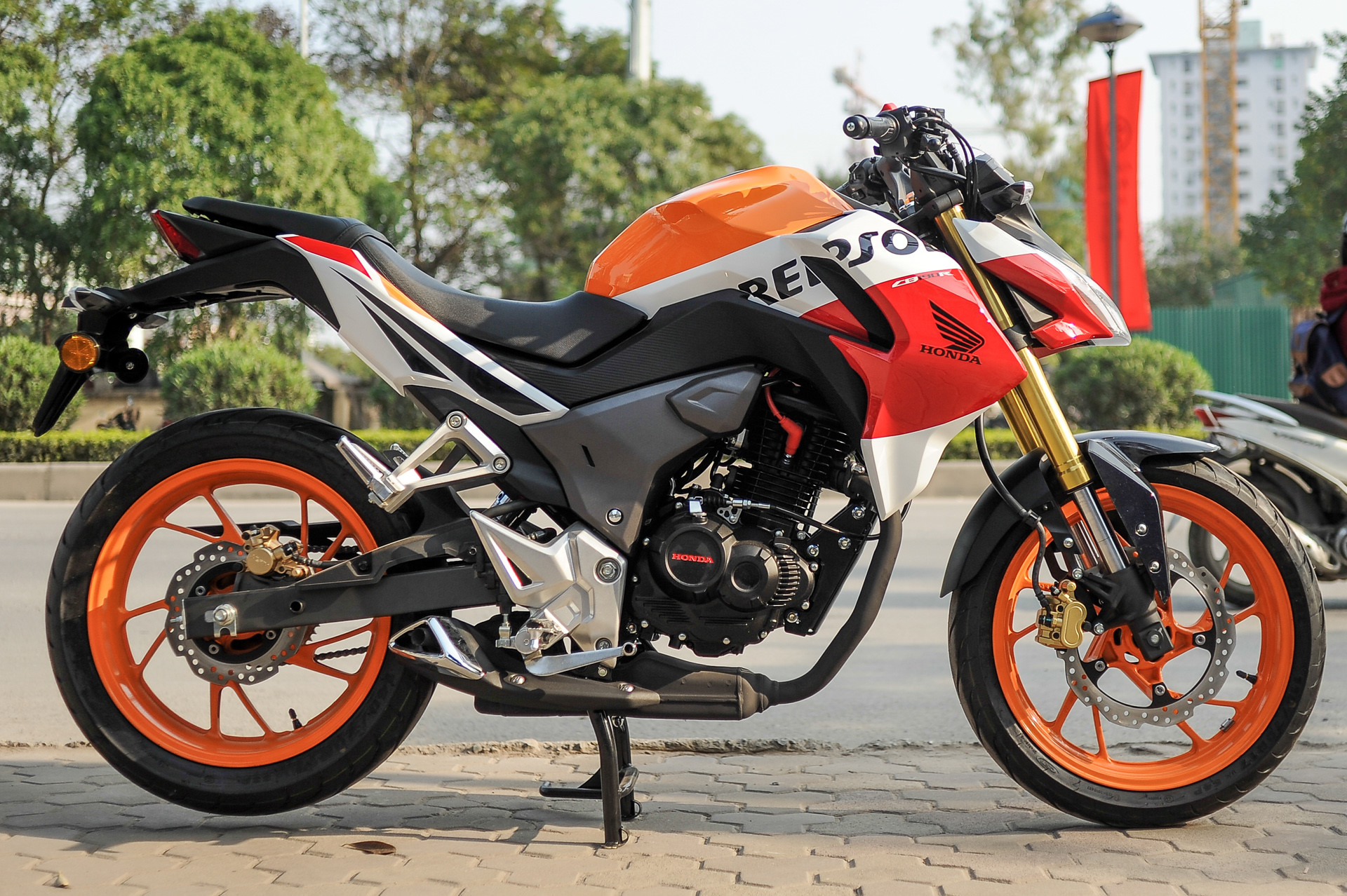Xe Mô Tô Dưới 100 Triệu Đồng -Honda CB190R
