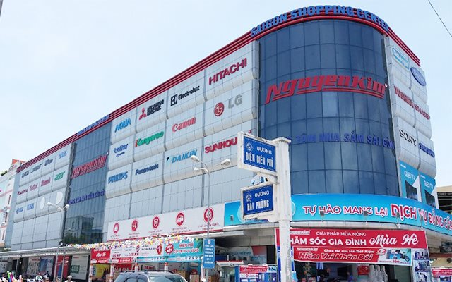 Siêu thị điện máy tại Đà Nẵng - Nguyễn Kim