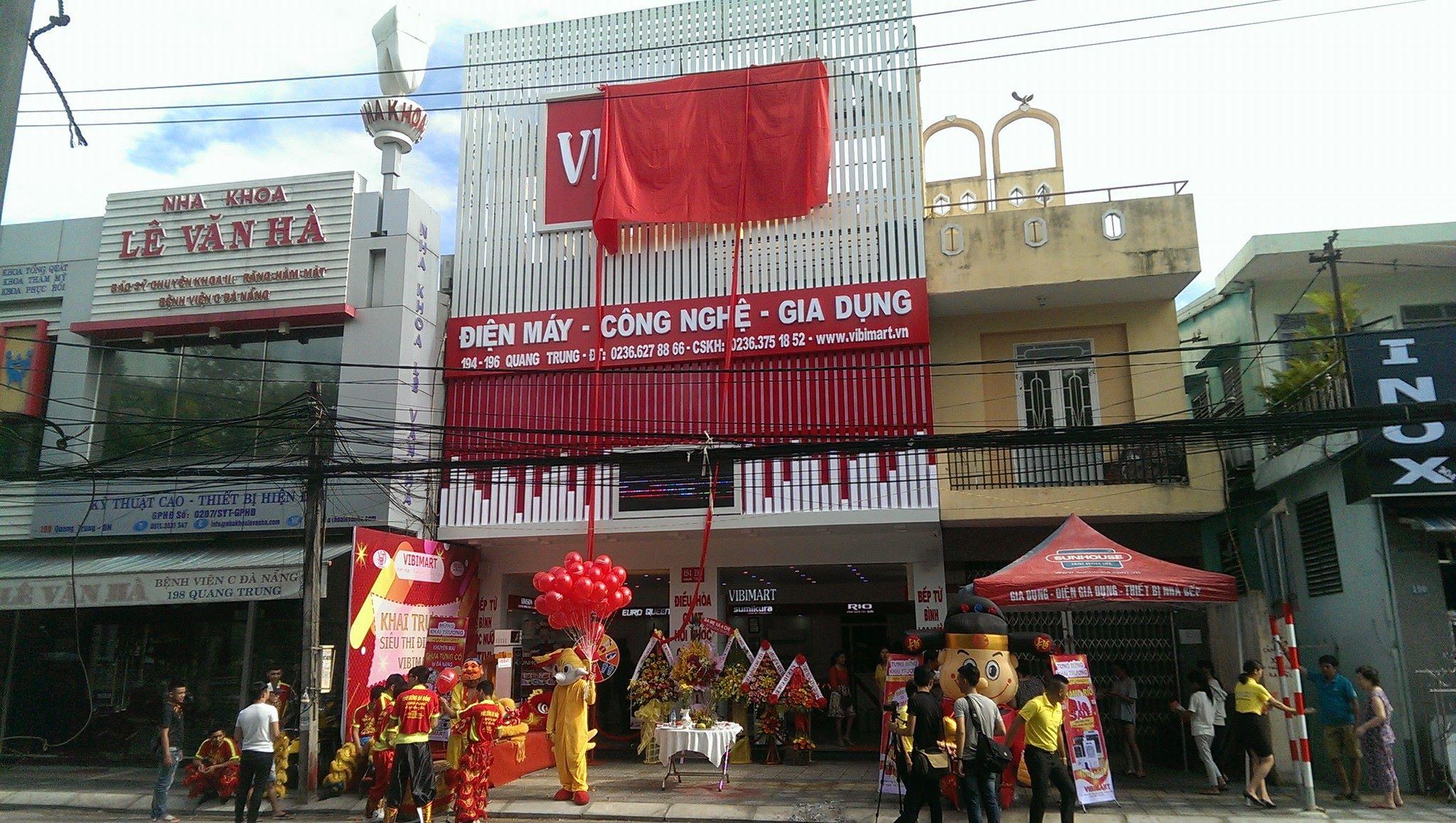 Siêu thị điện máy tại Đà Nẵng - Vibimart