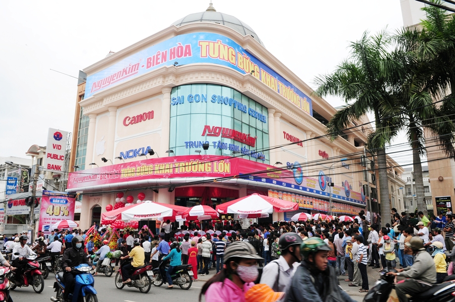 Siêu thị điện máy tại Biên Hòa - Nguyễn Kim