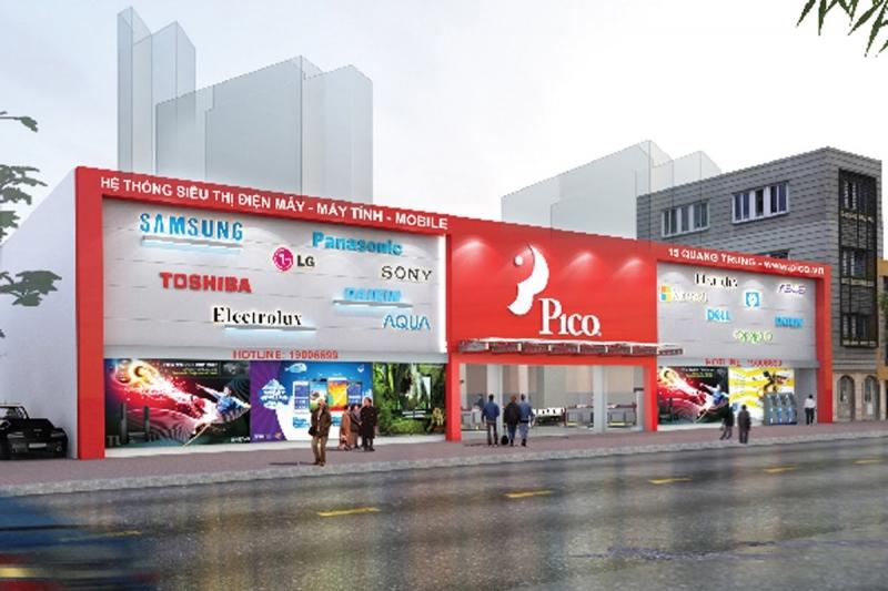Siêu thị điện máy tại Hà Nội - PICO