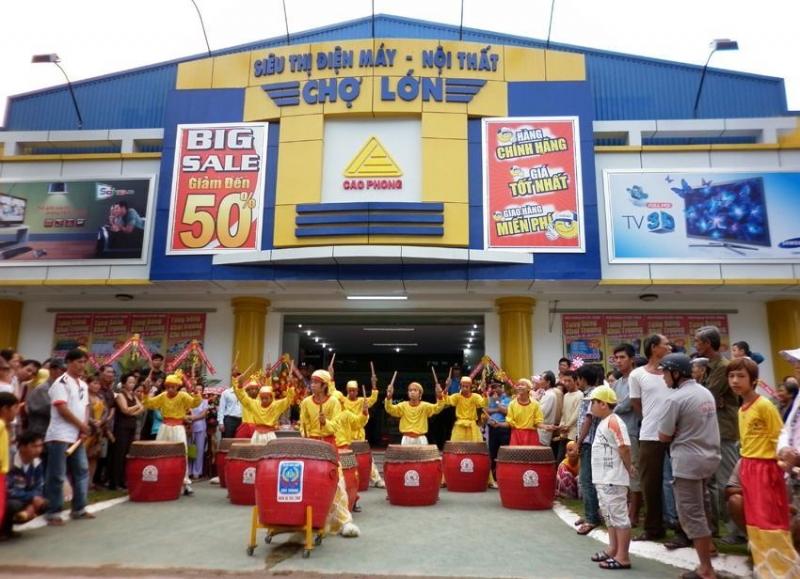 Siêu thị điện máy lớn tại Hồ Chí Minh - Điện Máy Chợ Lớn