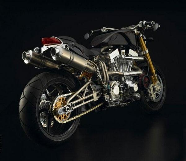 Xe máy đắt nhất thế giới mọi thời đại -Ecosse FE Ti XX