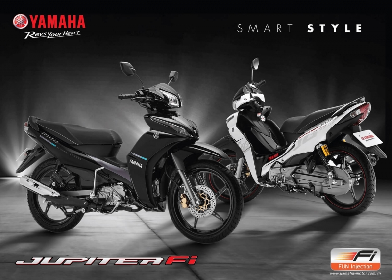 Xe máy tiết kiệm xăng - Yamaha Jupiter Fi