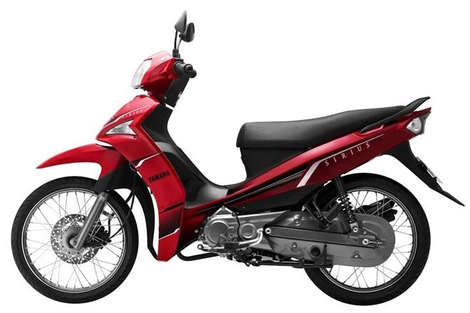 Xe máy tiết kiệm xăng - Yamaha Sirius