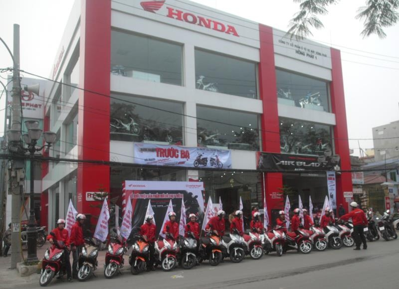 Mua bán phụ tùng xe máy tại Hải Phòng -Honda Hồng Phát