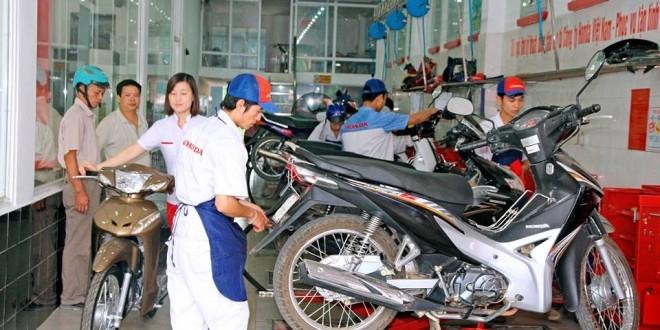 Địa chỉ mua bán phụ tùng xe máy Tp. Hồ Chí Minh -Hoàng Tuấn TDL