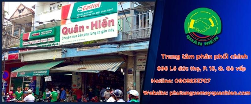 Địa chỉ mua bán phụ tùng xe máy Tp. Hồ Chí Minh -Cửa Hàng Phụ Tùng Xe Máy Quân Hiền