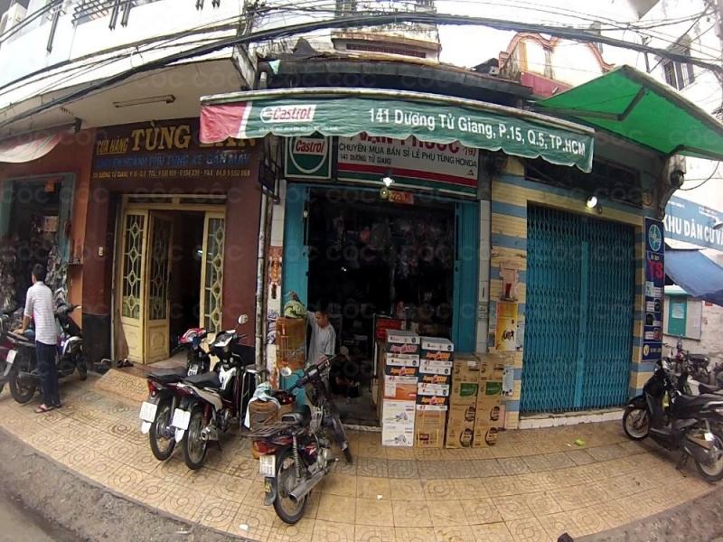 Địa chỉ mua bán phụ tùng xe máy Tp. Hồ Chí Minh -Cửa hàng phụ tùng xe máy Vạn Phước