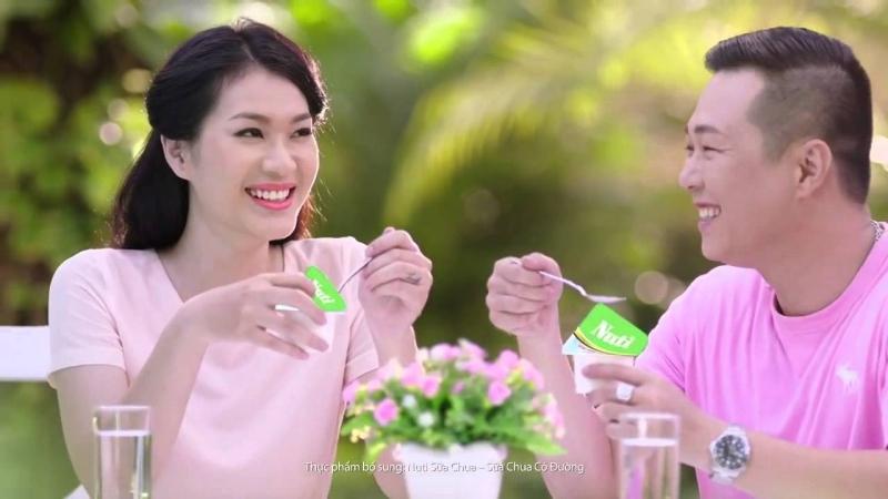 Sữa chua ngon nhất Việt Nam 2018 -Sữa chua có đường Nuti