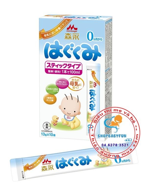 Sữa bột công thức cho trẻ sơ sinh -Thương hiệu sữa Morigana Nhật Bản