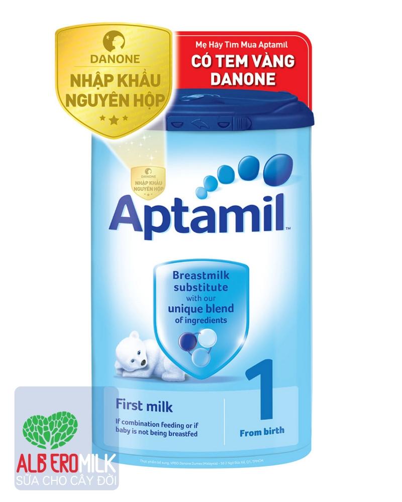 Sữa bột công thức cho trẻ sơ sinh -Thương hiệu sữa Aptamil