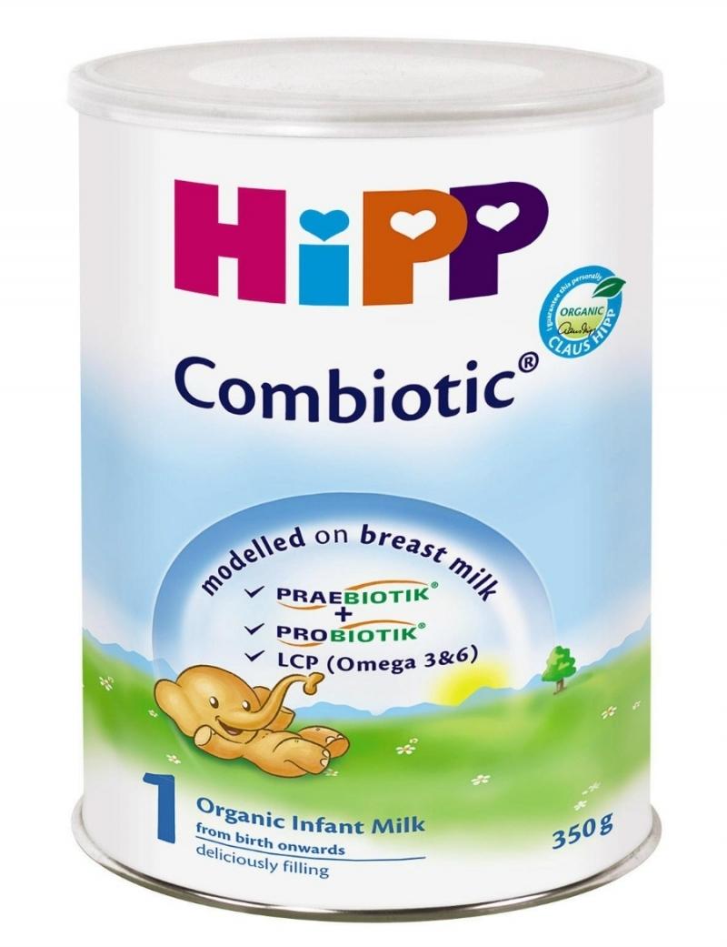 Sữa bột công thức cho trẻ sơ sinh -Thương hiệu sữa Hipp Đức