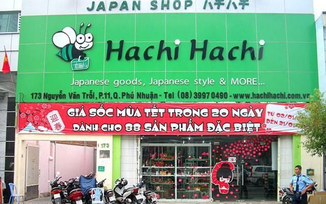 Cửa hàng bán đồ ăn dặm Nhật cho bé -Hachi Hachi