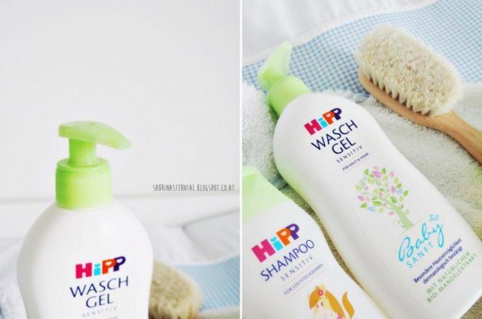 Sữa tắm tốt nhất cho trẻ em -Hipp