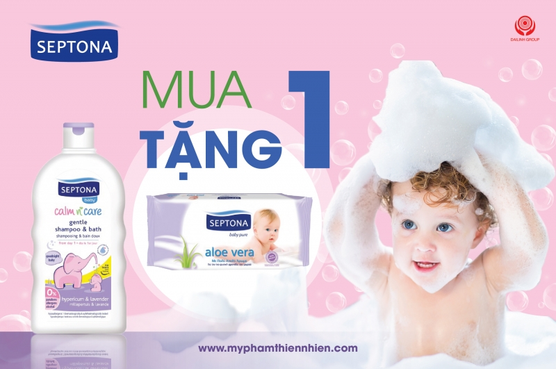 Sữa tắm tốt nhất cho trẻ em -Septona