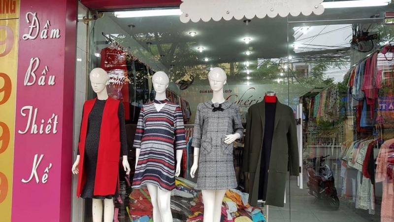 Shop bán đầm bầu công sở ở Hải Phòng -Đầm Bầu Dung Điệp