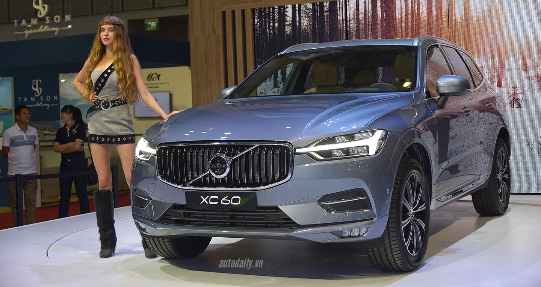 Xe ô tô giá dưới 2 tỷ 2018 -Volvo XC60 2018 – 2,45 tỷ đồng