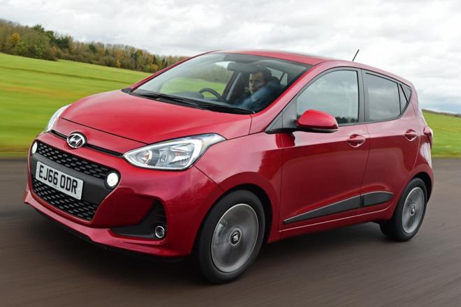 Xe Ô tô giá dưới 500 triệu 2018 -Hyundai i10
