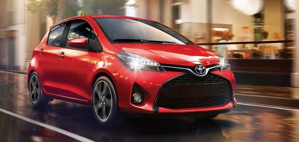 Xe ô tô 5 chỗ dưới 700 triệu -Toyota Yaris 2017