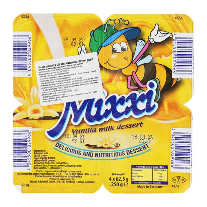 Váng sữa tốt cho bé 2018 -Váng sữa Mixxi