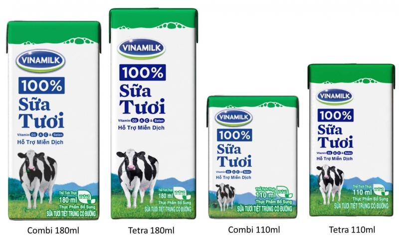Sữa nước Vinamilk