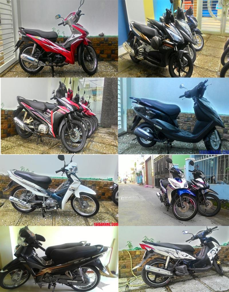 Dịch vụ cho thuê xe máy Hà Nội -Công ty Long Bình