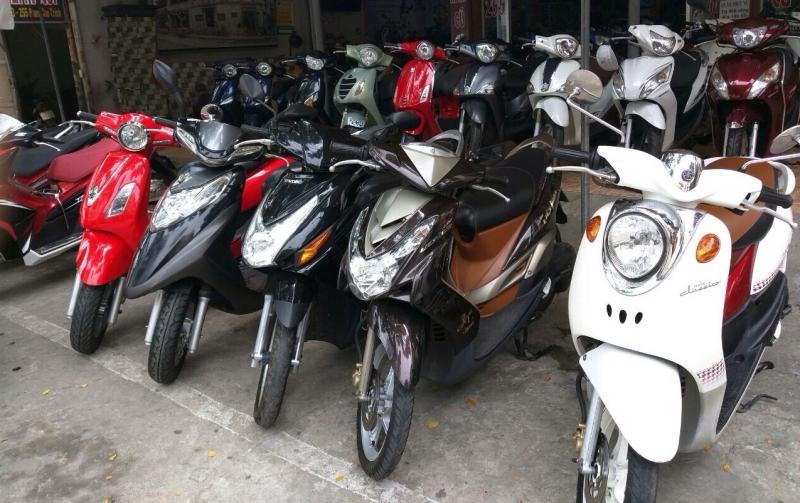 Dịch vụ cho thuê xe máy Hà Nội -Cho thuê xe máy giá rẻ Hà Nội