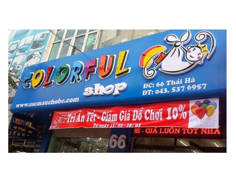 Shop bán đồ bơi trẻ em ở Hà Nội -Colorful Shop