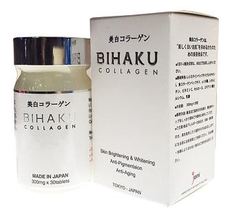 Danh sach vien uong collagen tot nhat Bihaku Collagen