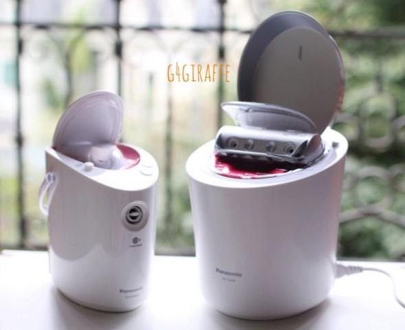 ReviewMay xong hoi matPanasonic Facial Steamer EH SA96