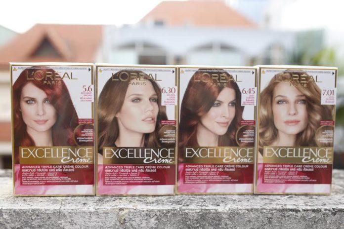 Thuốc nhuộm tóc L'oréal