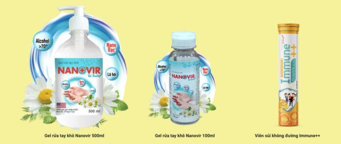 Gel Rửa Tay Nanovir
