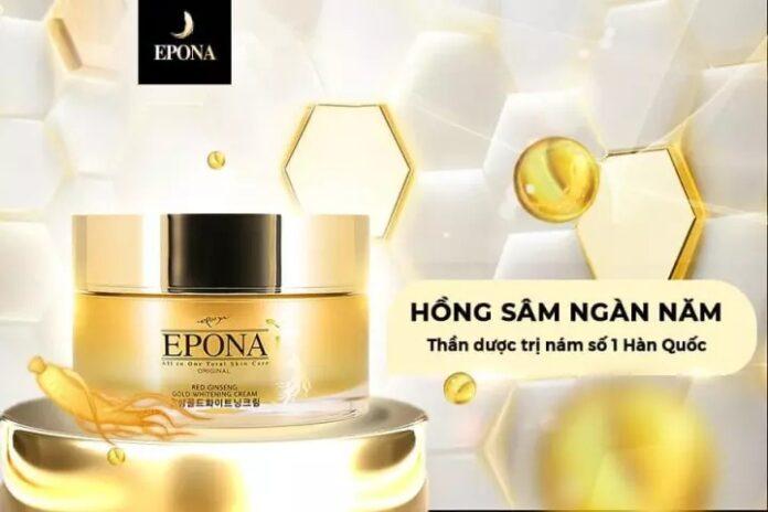 Epona Red Ginseng Gold Whitening Cream
